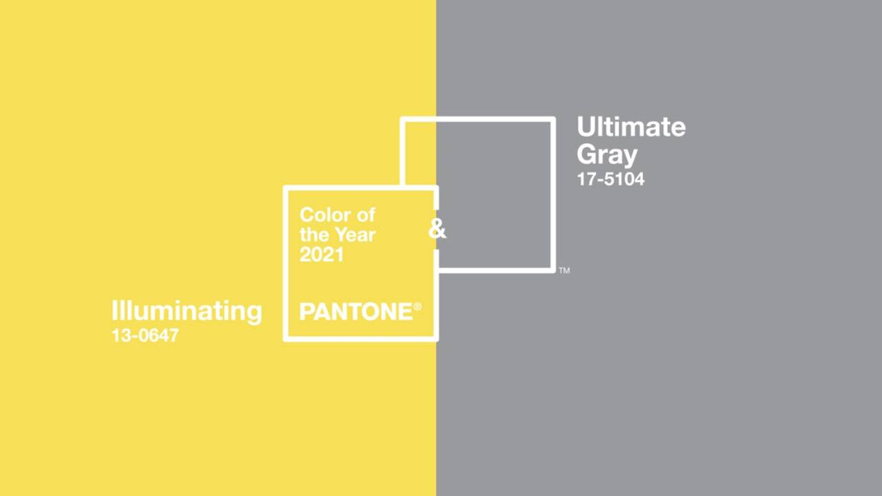 Pantone colours of the year 2021